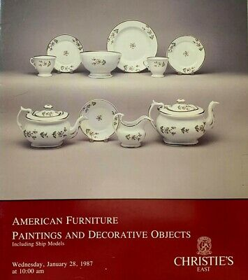 Christie's American Furniture Paintings Decorative Objects 1987 Auction Catalog