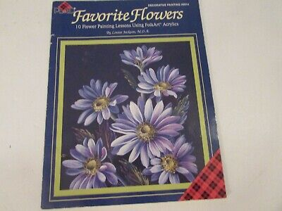 Favorite Flowers Decorative Painting by Louise Jackson