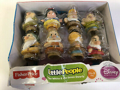 Fisher-Price Disney Snow White and the Seven Dwarfs Little People Figure Set