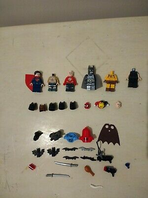 Lego Marvel DC Minifigure Bundle Flash Batman Superman Aquaman Harlequin Spider