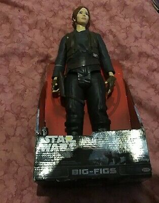 "Star Wars Rogue One Jyn Erso Big Figs 20""Action Figure JAKKS Pacific NEW"