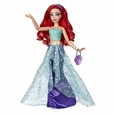 Disney Princess Style Series Ariel Doll, Contemporary Style with Purse and Shoes