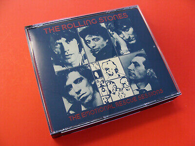 The Rolling Stones Emotional Rescue Sessions Live Import CD Rare Out Of Print