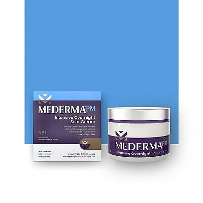 Mederma PM Intensive Overnight Scar Gel Cream Old or New Scars Injury Burns Acne