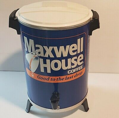 30 Cup Maxwell House Percolator Vintage. WORKS 100%. Electric. Coffee.