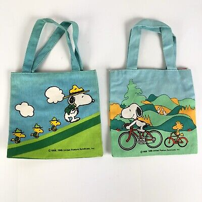 Peanuts Snoopy Lunch Box Cooler Bag Tote Bag Style Balloon F//S From Japan NEW