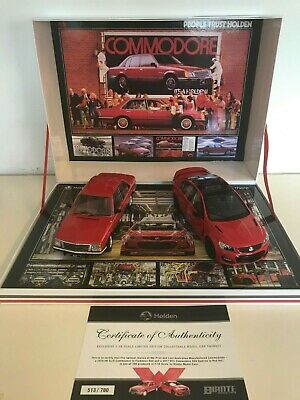 Holden Twin Set First & Last Australian Made Holden 1:18 Scale Model Cars