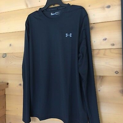 3xl Under Armour Men/'s Long Sleeve Charged Cotton T-Shirt  1289909  White   Sm