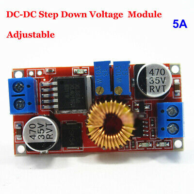 1pc 5A DC-DC Constant Current Voltage Regulator Step Down Converter 5-12-24V
