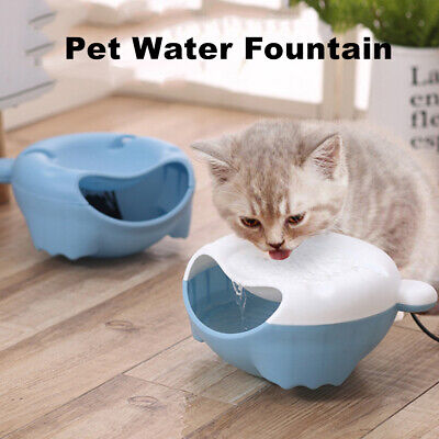 Pet Automatic Water Fountain Cat Dog Drinking Water Dispenser Drinker Au