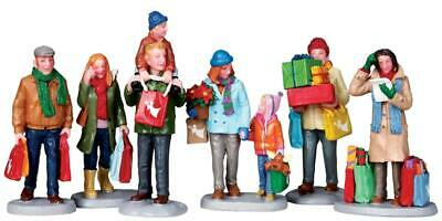 Lemax Figurines - Holiday Shoppers