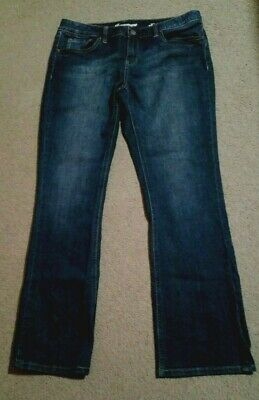 Jeanswest~Ladies/Womens Butt Lifter Slim Bootcut Jeans~Size 14~Vgc~Jeans West