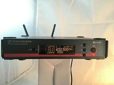 Sennheiser ew100 G3 B 626-668 MHz receiver for wireless microphones evolution ew