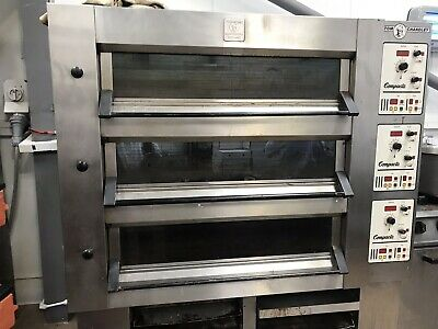 Tom Chandley 6 Tray 3 Deck Low Crown Oven - Bakery Equipment