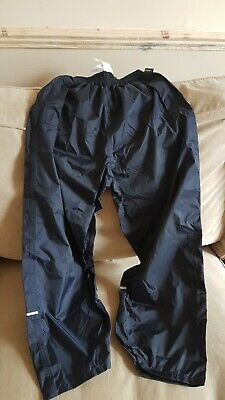 Kid/'s Regatta Waterproof Packaway Navy Trousers BNWT.