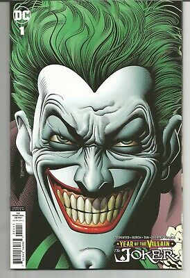 Joker Year Of The Villain 1 Retailer Variant Cover By Brian Bolland 10/9/19