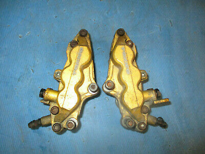 Suzuki Gsxr 1000 K1 K2 Gsx-R 2001 2002 Tokico 6 Pot Front Brake Calipers