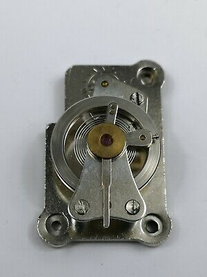 Vintage Clock Platform Escapement - Balance Good Spins Freely (AB6)
