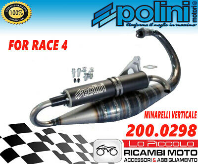 Marmitta Espansione Polini For Race 4 Mbk Booster R Rocket Spirit Track Ng