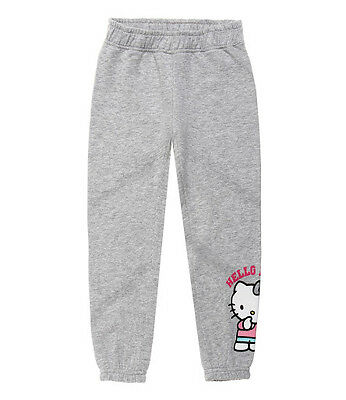 Casual Trousers Children's Girl's Sports Pants Joggers Hello Kitty Grey 104 #13