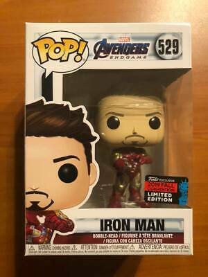 Funko Pop Marvel: Avengers Endgame Tony Stark with Gauntlet NYCC Shared Sticker