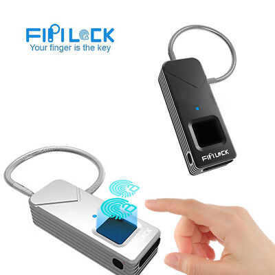 Fipilock Digitales Smart sans Clé Verrou Antivol Cadenas Sécurité Imperméable