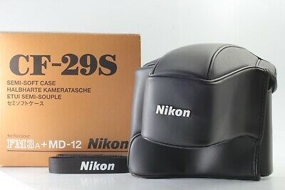 RARE [UNUSED IN BOX] Nikon CF-29S Case for FM3A Camera + MD-12 Drive from Japan