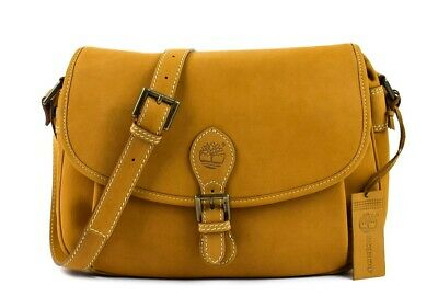BORSA DONNA TRACOLLA In Pelle Timberland New Rain A23Y6