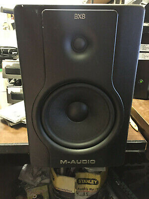 M-Audio BX8 D2 Black Active Studio Monitors Speaker
