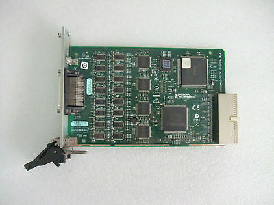 100% TEST National Instruments NI PXI-8430/16 RS232 Serial Interface Module