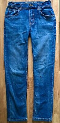 TU Boys Trousers Jeans 10 Years 140cm Adjustable Waist Straight Fit VGC