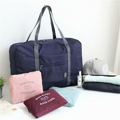 Foldable Large Duffel Bag Luggage Storage Bag Waterproof Travel Pouch Bag G