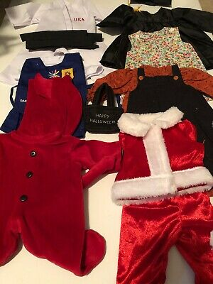6 Outfits For American Girl Dolls 18 Inch Doll Clothes