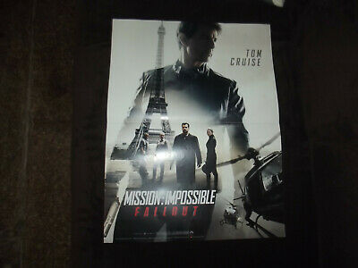 Affiche cinéma 40x60 Mission : Impossible Fallout Tom Cruise