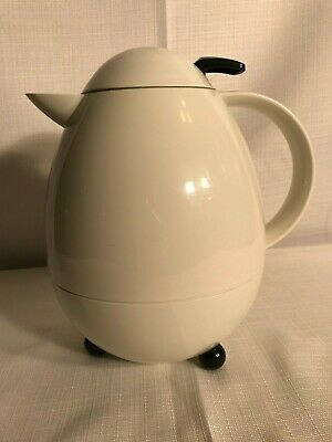 Leifheit Columbus Vintage Egg Shaped Carafe Hot Or Cold Thermal Pitcher
