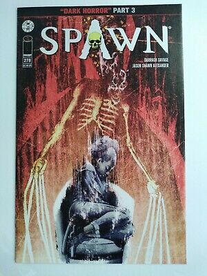 Spawn #278 Image Comics color cover by Jason Shawn Alexander