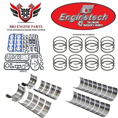 RERING REMAIN REBUILD KIT for 1970-1978 AMC JEEP 5.9L 360 WITH BEARINGS GASKETS