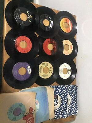 1 Lot Of 15 45 rpm Records