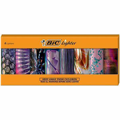BIC Special Edition Night Out Series Lighters Set of 8 Lighters