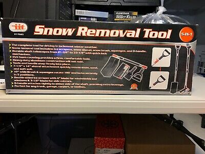 iiT SNOW REMOVAL TOOLS 5 IN 1