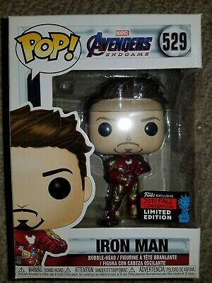 Funko Pop! Marvel Avengers Endgame Iron Man Gauntlet NYCC 2019 Shared Exclusive