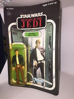 """Vintage Kenner Star Wars Hans Solo Bespin Outfit 1980 Empire Strikes Back 3.5"""""""