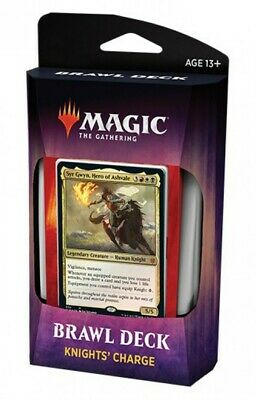 KNIGHT'S CHARGE Throne of Eldraine Brawl Deck Magic MTG