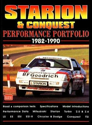 Starion and Conquest Performance Portfolio 1982-1990, Paperback,  by R. M. Clar