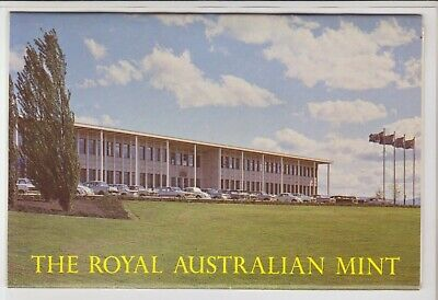 Foldout The Royal Australian Mint Canberra Act 12 Scenes Macarthur  Postcard