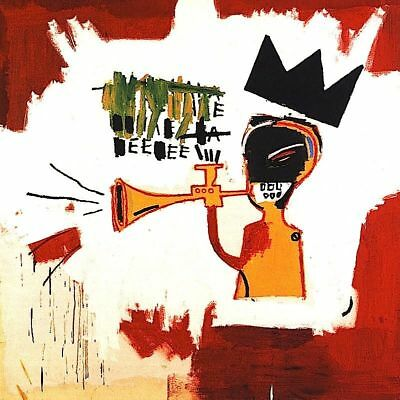"""Oil Painting HD Print On Canvas Jean Michel Basquiat """"Red devil"""" No FRAME L181"""