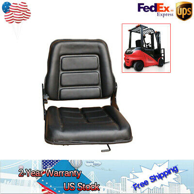 For Toyota Nissan Universal Replacement Forklift Seat Bobcat,Tractor US