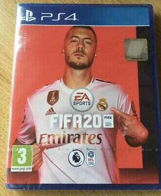 Brand New And Sealed FIFA 20 For PS4, PlayStation 4 Game