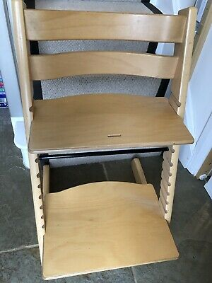 Stokke Tripp Trapp In Excellent Condition With Instructions