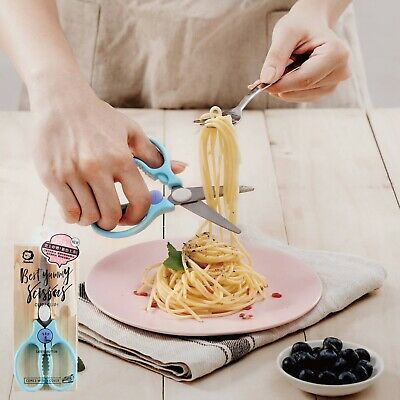 Simba Baby Food Scissors SUS420 Stainless Steel Material Green